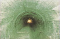 トンネル工法(NATM)自然流下部