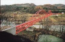 芦別川水管橋